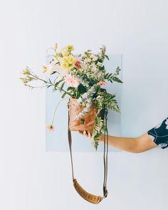 Fresh blooms + the Bond Street bag, shot by @teresacfreitas #inmyONA