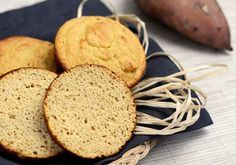 Paleo Sweet Potato Buns {nut-free} - Plated with Style