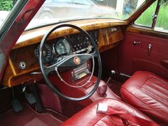 Jaguar MkII 3.8 Interior (1962)