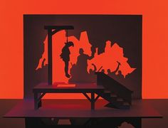 The Gallows. The art of kirigami turns gruesome. Marc Hagan-Guirey uses the traditional Japanese art of folding and cutting a single sheet of paper to produce spooky scenes Japanese Paper Art, Halloween Scene, Halloween Ideas, Traditional Japanese Art, Origami Paper Art, Sculpture Painting, Paper Artist, Kirigami, Paper Cutting