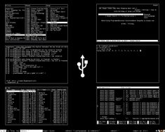 Minimal cyberpunk theme by xeNULL