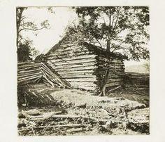 Daniel Boone's cabin. Jeremiah Stark Boone was our ancestor. Related to Daniel. Maryann Stark Harris(M.New)