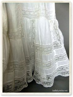 Art Deco Fashion, Boho Fashion, Diy Clothes, Clothes For Women, Heirloom Sewing, Blouse Styles, Vintage Lace, Romance, Timeless Fashion