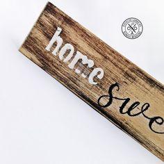 """Home sweet home"" dekoráció Megvásárolható a webáruházban Sweet Home, Farmhouse, Home Decor, Decoration Home, House Beautiful, Room Decor, Home Interior Design, Cottage, Plantation Homes"