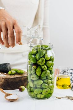 How To Brine Olives - Give Recipe