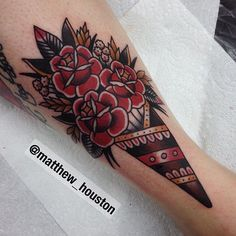 """""""Bouquet of roses for Christina. Thanks for trusting me to do this…"""