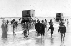 Des cabines de bain mobiles pour se baigner en toute dignité