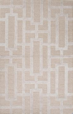 Building Blocks Rug, Beige