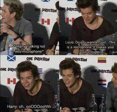 One direction harry styles funny. One Direction Quotes, One Direction Harry, One Direction Pictures, 0ne Direction, Cool Stuff, Larry Stylinson, Niall Horan, Zayn Malik, Harry Styles Funny