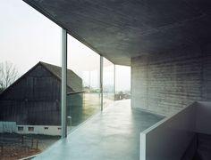Christian Kerez, Walter Mair · House with One Wall. Zurich, Switzerland · Divisare