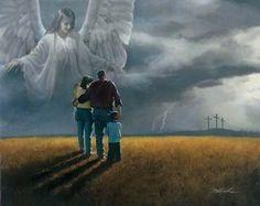 Danny Hahlbohm Coming Storm Canvas #DannyHahlbohm #Inspirational Remembrance Collection.