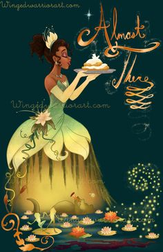 print Tiana+from+Princess+and+the+Frog! Watermark+will+NOT+be+on+the+printed+version. Shipped+in+a+protected+sleeve+in+between+cardboard+backing+or+in+a+hard+poster+tube,+guaranteed+to+get+there+safely!+ Orders+are+ty.Tiana+from+Princess+and+the+Frog! Disney Pixar, Disney Princess Tiana, Film Disney, Disney Princess Drawings, Disney Fan Art, Disney And Dreamworks, Disney Cartoons, Disney Drawings, Tangled Princess