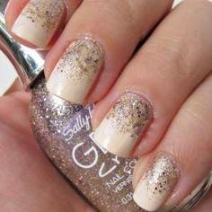 DIY Glitter Nails Art : DIY Gradient Nail Art ideas