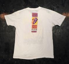1990 Rolling Stones 'Urban Jungle' Rad Fade European Tour Tee Shirt