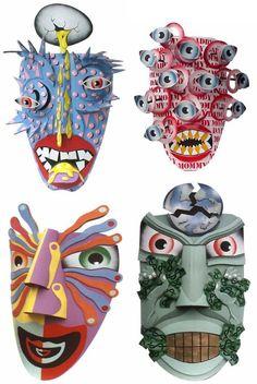 High School Art Projects | Inspiration for art projects in high school / Dag Weiser Cardboard ...