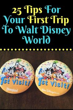 25 Tips For Your First Trip To Walt Disney World - Disney - 25 tips from Disney veterans you need to know before your first trip to Walt Disney World. Voyage Disney World, Viaje A Disney World, Disney World Florida, Disney World Trip, Disney Worlds, Birthday At Disney World, Disney World Vacation Planning, Walt Disney World Vacations, Disney Planning