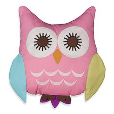 Create the nursery of your dreams with the Lolli Living by Living Textiles Baby Mix & Match Bedding Collection. Your child will adore this soft and cuddly Owl Pillow, with its cute 2-tone wings, feet, ears, and googly eyes
