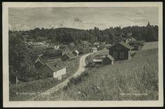 Akershus fylke Eidsvoll kommune HOELSTANGEN,  Oversikt over bebyggelsen  Utg Bry & Skuggedal, Brukt 1932