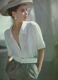 Christy Turlington, 1980's