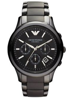 Emporio Armani Ceramic Gents Watch   Cheeky Wish List   Wedding and Birthday Gift Ideas for Men and Women