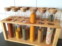 RIMFORSA Kitchen chemistry - DIY glass tube holder - IKEA Hackers - IKEA Hackers