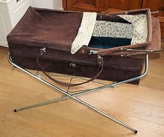 Vintage Mothercare Brown Corduroy Carrycot and Stand in Baby, Pushchairs, Prams… 1970s Childhood, Childhood Memories, Mothercare Prams, Vintage Pram, Retro Baby, Baby Prams, Baby Carriage, The Good Old Days, Beautiful Babies