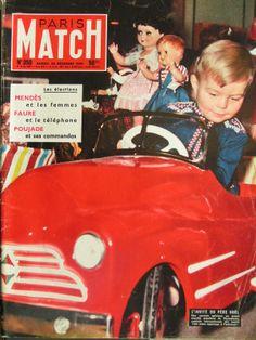 Paris Match Vintage Advertisements, Vintage Ads, Prix Nobel, Paris Match, Pedal Cars, Nostalgia, The Past, Funny Pictures, Advertising
