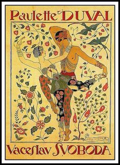 books0977: Poster advertising a revue entitled Le Tapis Persan, at the Casino de Paris (1920). Georges Barbier (French, 1882-1932). Lithogr...