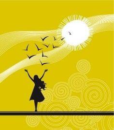 Dot Scribbles: The sun is shining!