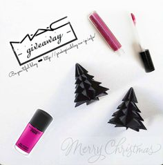 tiful - M·A·C Xmas giveaway 2016 🎁🌲 ↞ Giveaways, Place Cards, Xmas, Place Card Holders, Blog, Weihnachten, Navidad, Blogging, Christmas