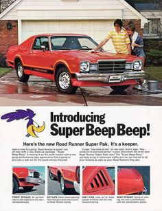 Carsthatnevermadeitetc — Plymouth Volaré Roadrunner, 1976/78. The final...