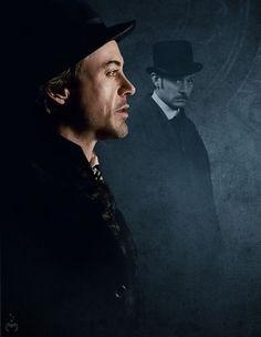 """Sherlock Holmes"" - Robert Downey Jr. and Jude Law"