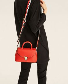 CROSSBODY BAG WITH FASTENING DETAIL - View all-BAGS-WOMAN | ZARA United States