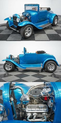 fuel injected 1929 Ford custom