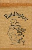 Michael Bond Paddington Wood Block Rubber Stamp by Kidstamps