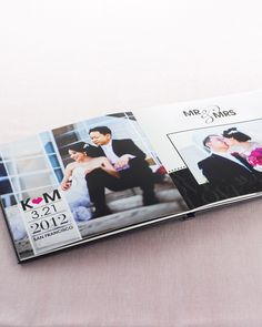 Celebrate Mr. and Mrs. through favorite photos of the wedding day. Custom photo books make it fun and easy | Shutterfly.com