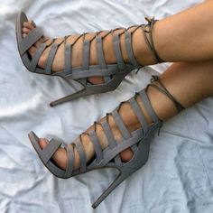 Tie up with those Super Cute Sandal Heels