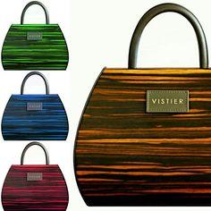 V I S T I E R - Wooden handbags