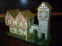 Papercraft - European Tower Bridge   Papercraft4u   Free Papercrafts, Paper Toys, Paper Models, Gratis