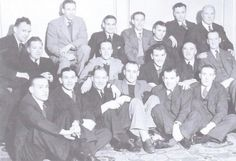 Celtics cup winning team with boxer benny lynch 1937