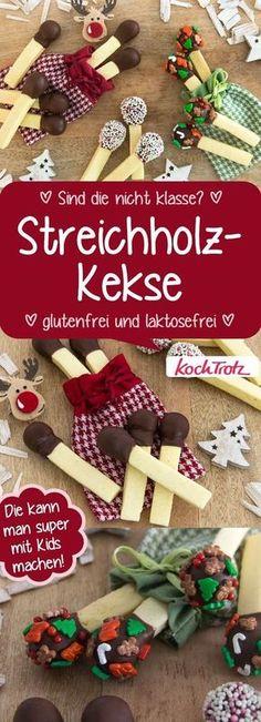 Tolle Kekse als Streichhözler, nicht nur zu Weihnachten #glutenfrei #laktosefrei