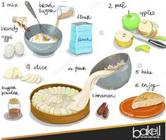 """BAKELL.COM - Amazing """"apple cake"""" recipe, enjoy! For all of your baking, crafting and cake decorating supplies visit us at Bakell.com, or, search """"BAKELL"""" on Etsy, eBay, Facebook or Amazon! Buy direct, buy Bakell!   #decorating_supplies #baking_supplies #bakell #bakell_baking #buy_bakell #bakell"""