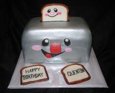 Fisher Price Toaster themed cake