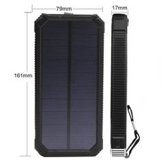 15000mAh, Dual USB Cargador Solar portátil Backup Power Bank para exteriores a prueba de golpes impermeable Panel Solar Cargador con LED de luz de emergencia para iPhone Samsung HTC y otros Smartphone - http://cargadorespara.com/comprar/solares/15000-mah-dual-usb-cargador-solar-portatil-backup-power-bank-para-exteriores-a-prueba-de-golpes-impermeable-panel-solar-cargador-con-led-de-luz-de-emergencia-para-iphone-samsung-htc-y-otros-smar/