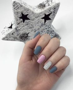 Manicura shared by María José on We Heart It Fabulous Nails, Gorgeous Nails, Glam Nails, Beauty Nails, Green Nails, Pink Nails, Cute Acrylic Nails, Cute Nails, Manicure E Pedicure