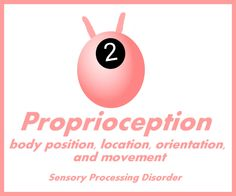Proproception: Body position, location, orientation and movement - how it is affected by Sensory Processing Disorder and ways to help
