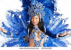 red white blue samba costume - Google-haku