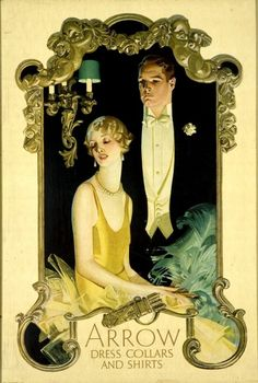 the-art-of-romance:  historiful:  Advertisement, illustrated by J.C. Leyendecker (1874-1951), 1920s.