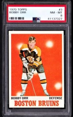 Boston Sports, Boston Red Sox, Hockey Cards, Baseball Cards, Bobby Orr, Boston Bruins Hockey, Sports Illustrated, Ice Hockey, Trading Cards