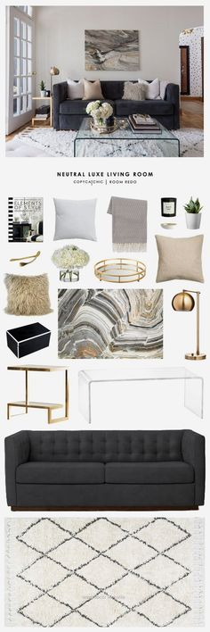 Copy Cat Chic Room Redo | Neutral Luxe Living Room … Copy Cat Chic Room Redo | Neutral Luxe Living Room .. http://www.wersdecor.website/2017/05/02/copy-cat-chic-room-redo-neutral-luxe-living-room/